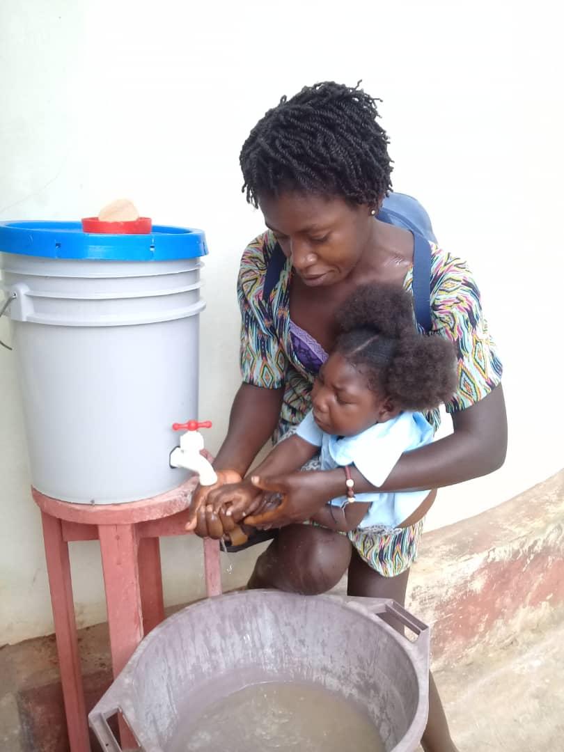 Interventi di AKG legati all'urgenza COVID-19 ad HAITI